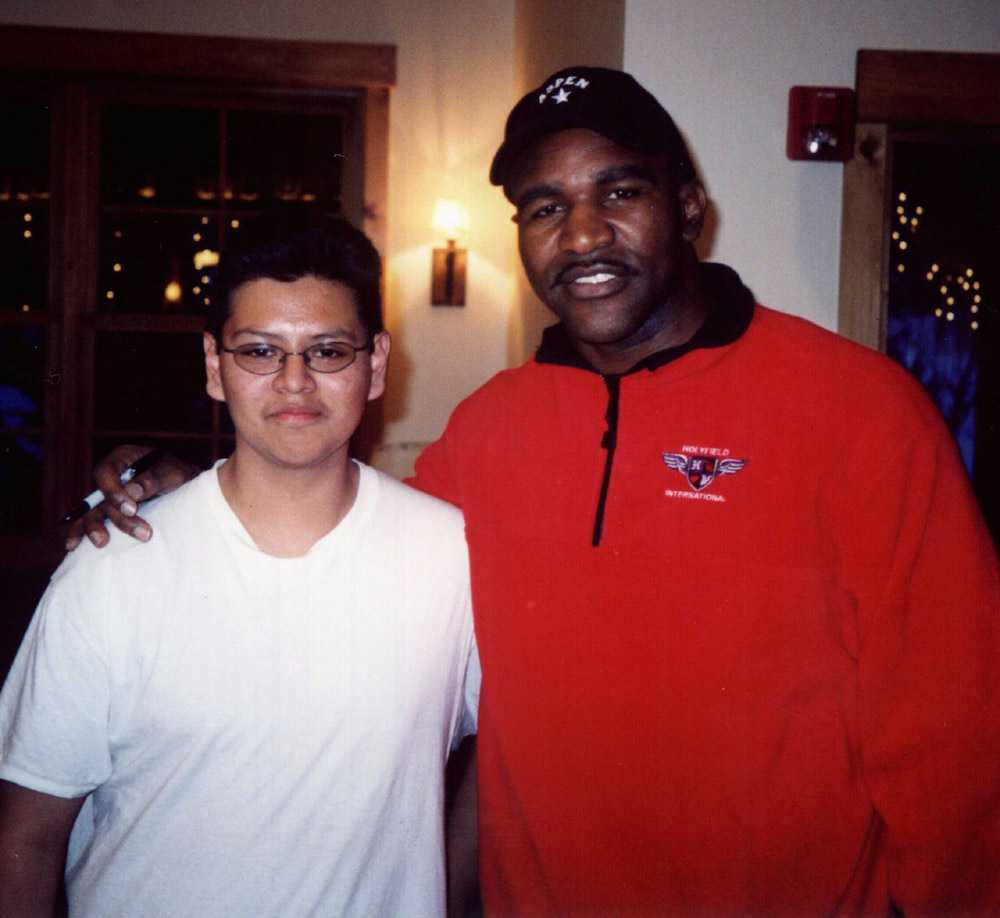Evander Holyfield & Jose during CO session.jpg