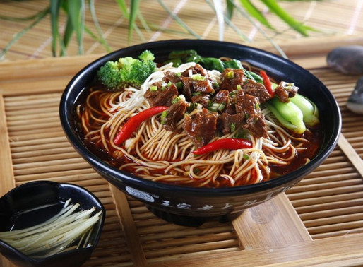 Chinese Sichuan Noodles