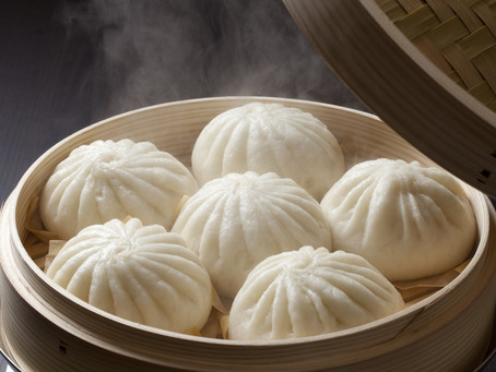 Steamed Pork Buns (Bāozi 包子)