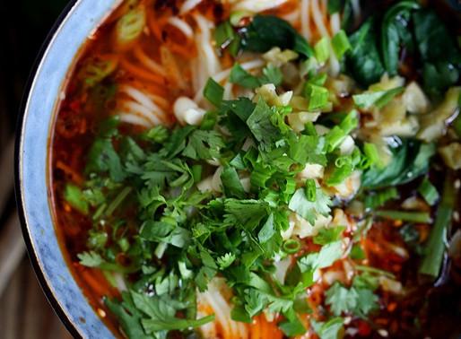 Vegan Sichuan Noodles