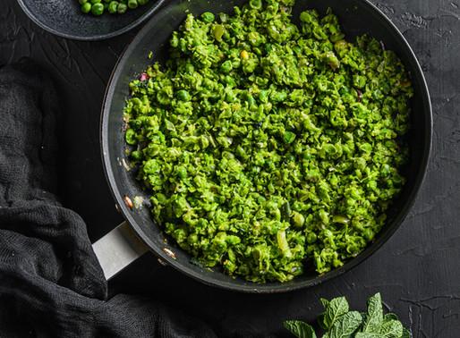 Fresh Mushy Peas + 🌶