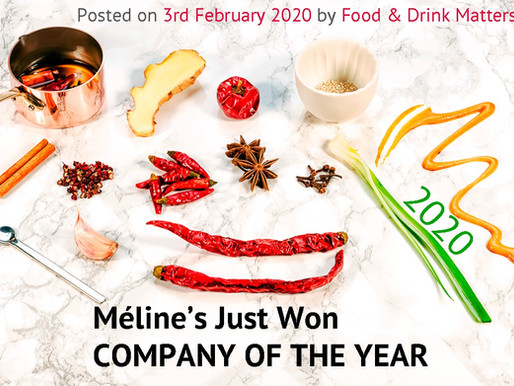 Company Of The Year Méline's 2020