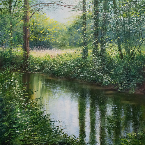 Spring Clearing, River Mole