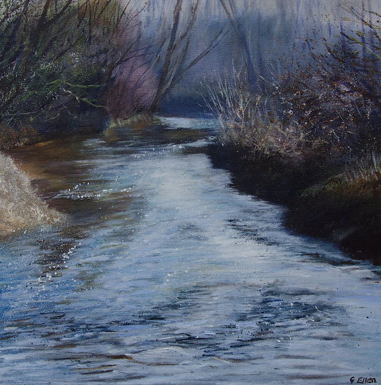 Winter River, Thursley