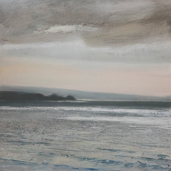 Peach Skies and Light Pools, Bude