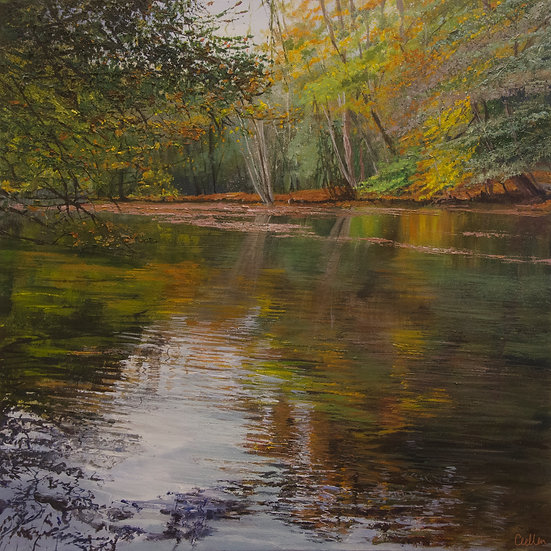 Autumn Reflections, Waggoner's Wells
