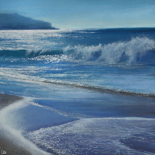 The Sparkling Sea at Sennen