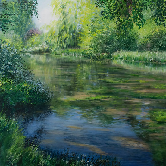 Summer Light, Itchen