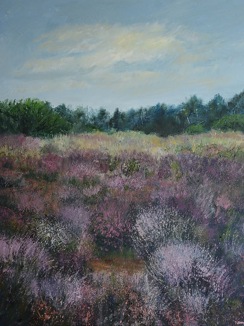 Wildflowers and Heather, Ludshott Common