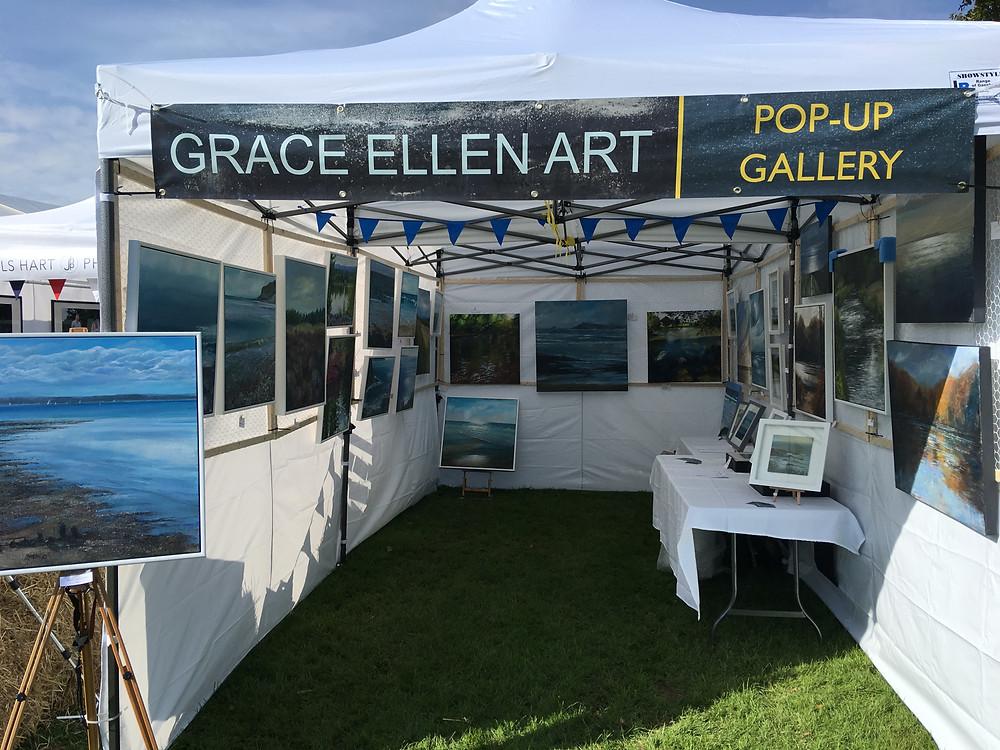 Affordable art fair, pop-up gallery Surrey