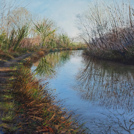 Winter Warmth, Towpath