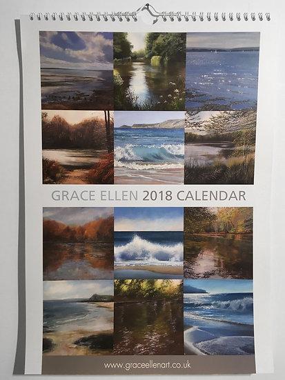 2018 A3 Calendar