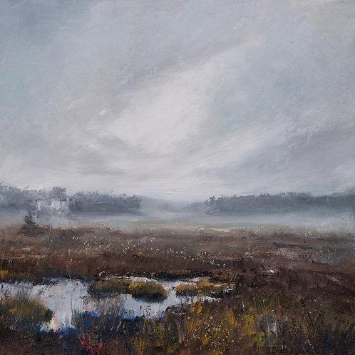 Dusk Marsh, Breaking Light