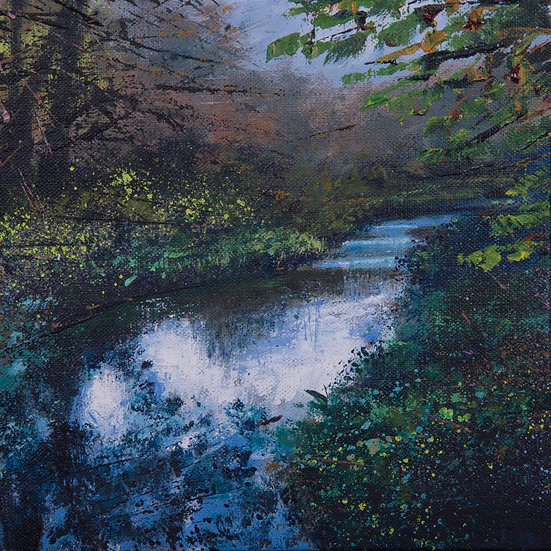 Dappled Light, Wey Limited Print