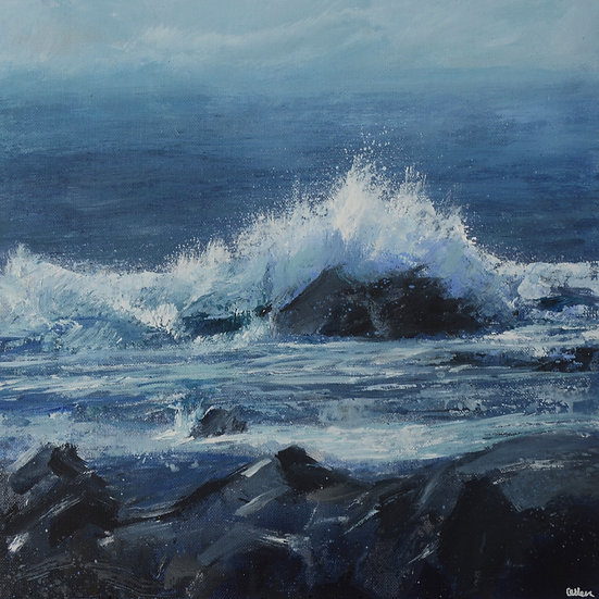 Crashing Waves, Cape Cornwall