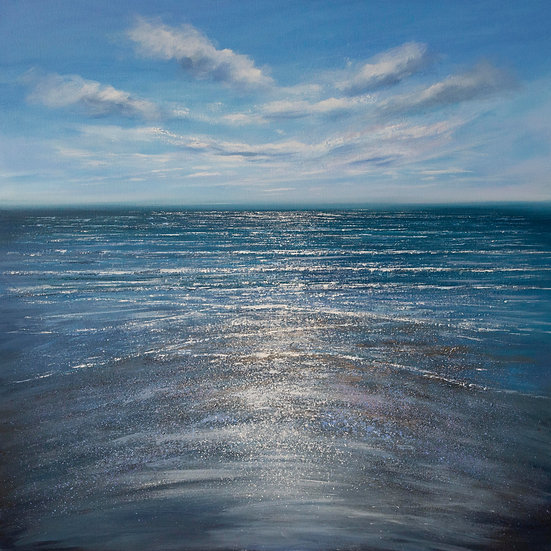 Into the Sparkling Sea