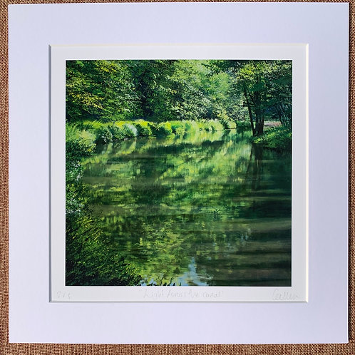 Light Across the Canal, limited edition print