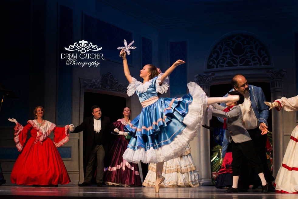 The Nutcracker Ballet Party Scene