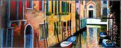 Morning in the Venice in Soft Pastel