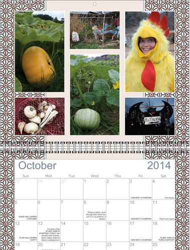 Doeville Calendar for Crowd-funding perk