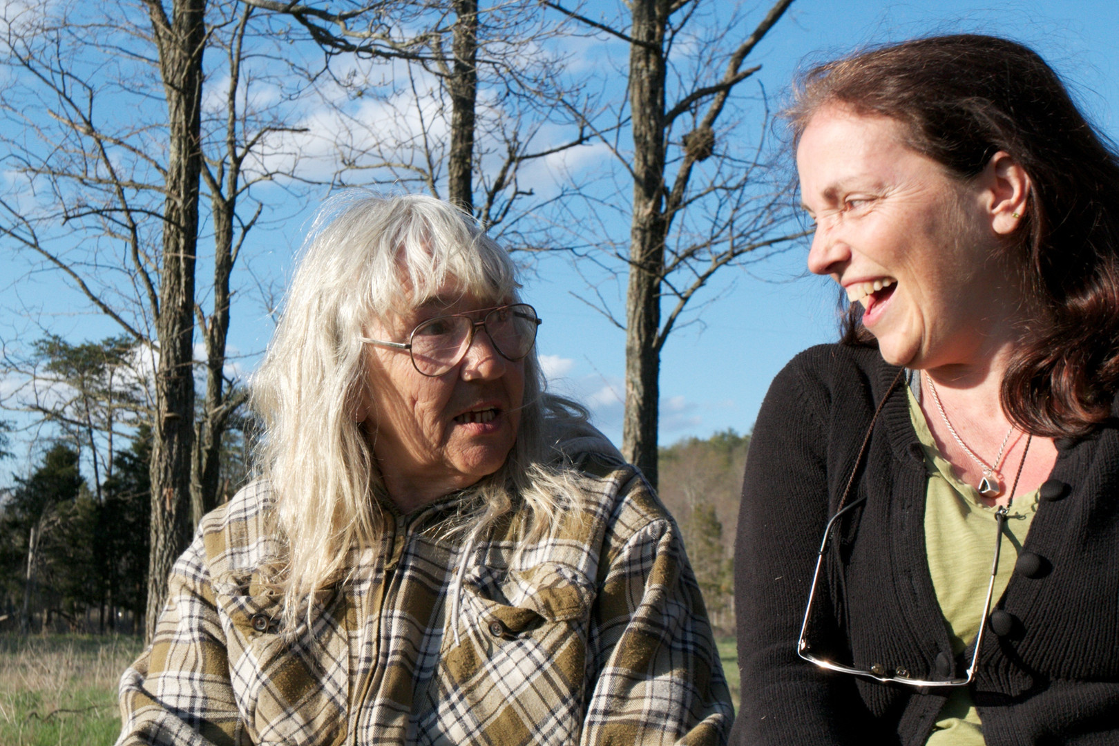 Gail Rose and Kathy
