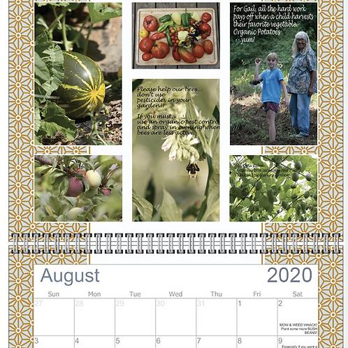 Gail's Garden Calendar 2020