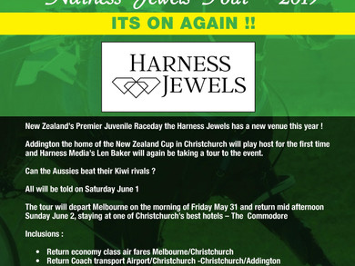 Harness Jewels Tour with Len Baker