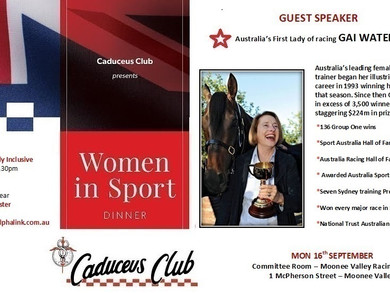 Women In Sport Annual Dinner