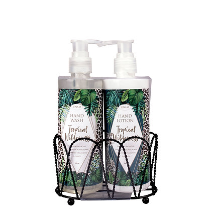 Hand wash & hand lotion set -Tropical Wilderness