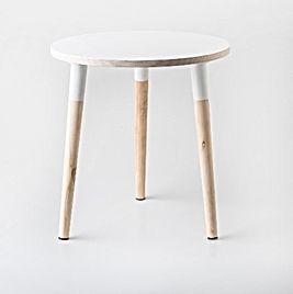 Birch-Round-Side-Table-White-Woodka-Inte