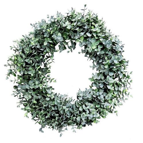 Eucalyptus Garland Wreath Woodka Interiors