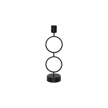 Double Ring Candle Holder - 23CM