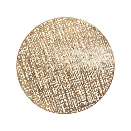 placemats-kitchenware round gold