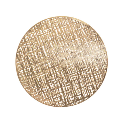 placemats-kitchenware round gold