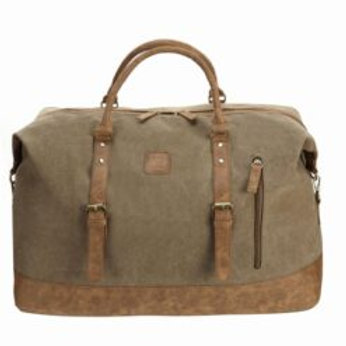 Classic Canvas Large Travel Bag Light Brown