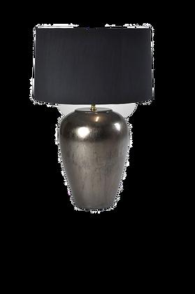 Ceramic table lamp- Warm Metal