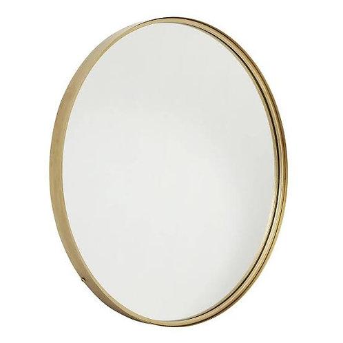 Gold Oval Mirror- Medium