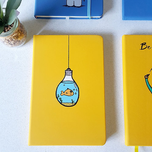 Notebook | Journal -Bubbles Woodka Interiors