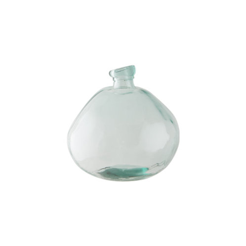 Woodka Interiors balloon Vase recycled glass
