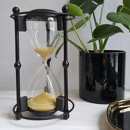 Hour Glass Sandtimer - Metal