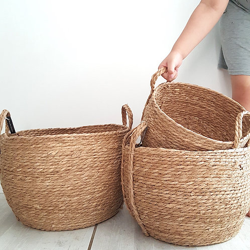 baskets with handles woodka interiors