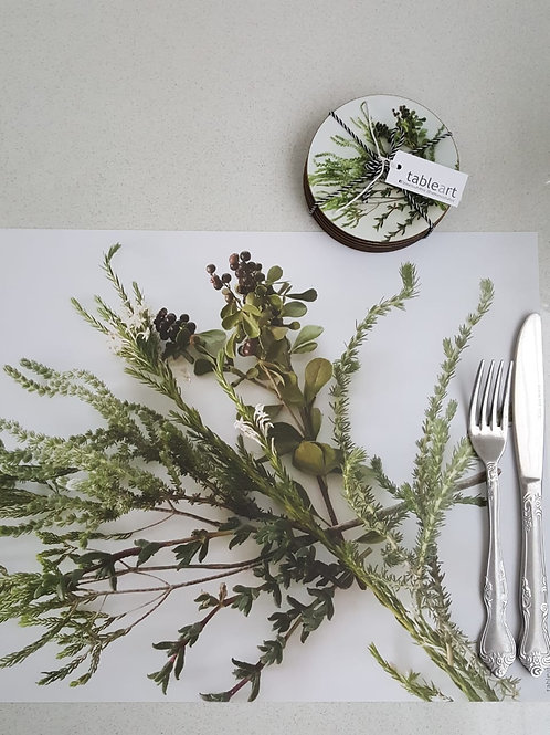 Tableart Disposable Placemats -Fynbos