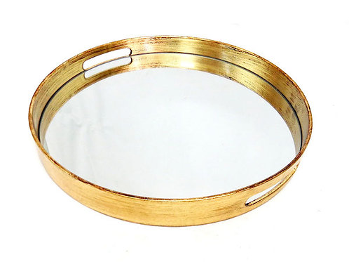 Gold-Monroe-Round-Mirrored-Tray-Woodka-Interiors