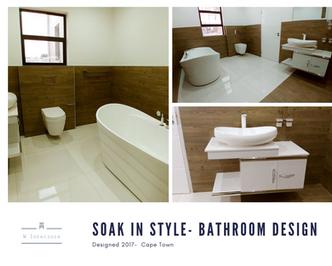 Designing a bathroom- woodka interiors