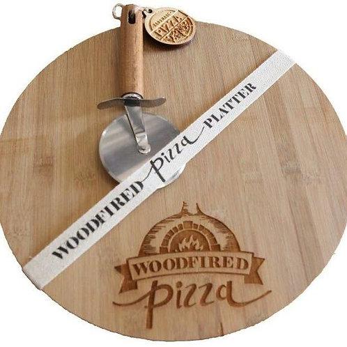 Bamboo Cutting Board - Woodfired Pizza
