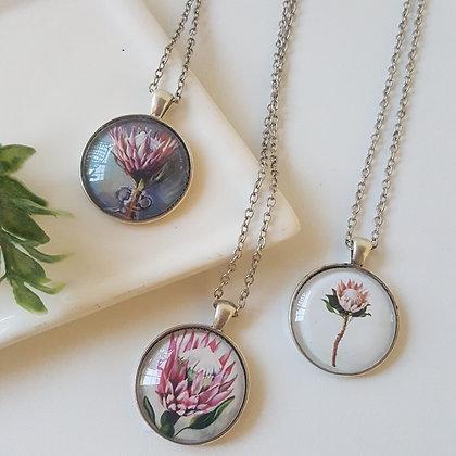 Silver Pendant Jewellery - Protea Range
