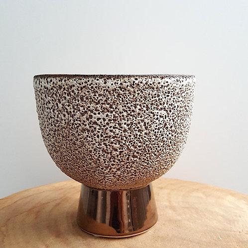 Sponge pot vase
