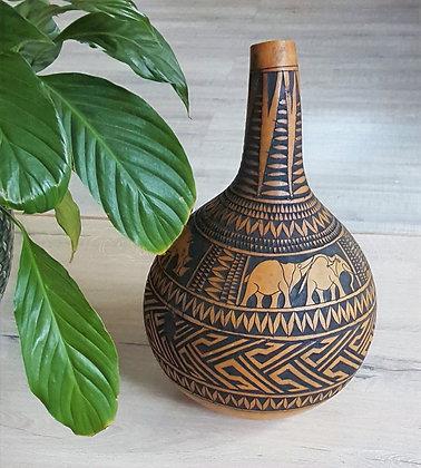 Wooden Tribal Art Kalbas