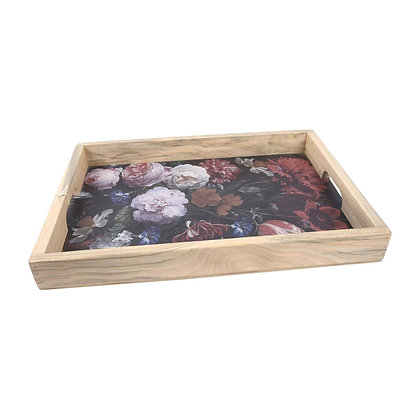 Wooden Decorative Tray - Black Rijks Museum