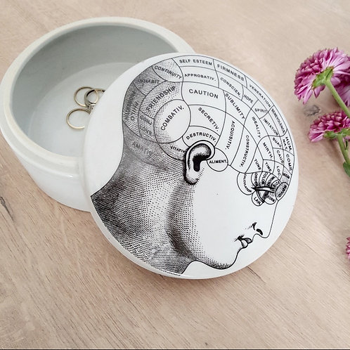 Small Ceramic Jewellery Box